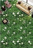 Wallpaper Experten Rasen Blumen Malerei das Wohnzimmer Schlafzimmer Flur Klebstoff Stock Balkon Bodenfliesen Bodenfliesen Kunst selbst wasserdicht Verschleiß