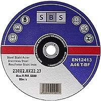 25pieza SBS–Discos de corte (230x 2,0mm inox Flex metal de corte