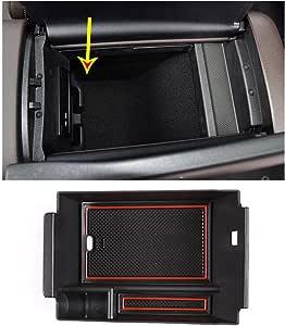 Lfotpp Mittelkonsole Aufbewahrungsbox Für Gle W167 Armlehne Organizer Mittelarmlehne Handschuhfach Tray Storage Box Auto Zubehör Auto