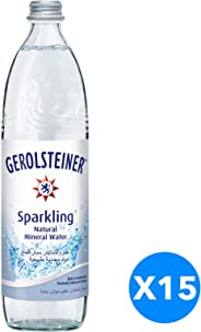 Gerolsteiner Sparkling MIneral Water - 750ml (Pack of 15)