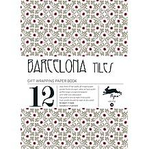 Libro de 12 Pliegos Papel Regalo Creativo PEPIN Diseño BARCELONA TILES 486 7066