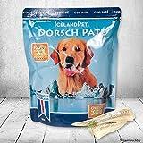 Dorsch pur 33x300g Einzige Zutaten sind pürierte Dorsch-Filetstücke und Dorschleber ideal zum Barfen Hundefutter für hochgradig sensitive Hunde Viel Omega 3 -Fettsäuren Nassfutter Hundefutter