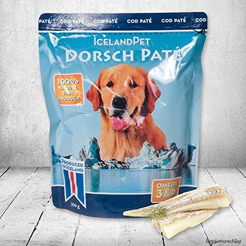 Schecker Dorsch pur 6 x 300g Einzige Zutat ist pürierter Fisch Filetstücke - Fische Hundefutter