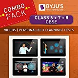 #5: BYJUS Class 6th + 7th + 8th CBSE Preparation (Tablet)