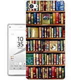004 - Vintage Library Look Books Shelves Design Sony Xperia
