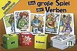 Das große Spiel der Verben: 100 Karten und 3 Würfel