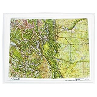 American Education Raised Relief Map: Colorado NCR Series by American Educational Products