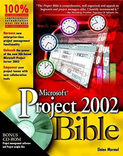 Microsoft Project 2002 Bible by Elaine Marmel (2002-05-01)