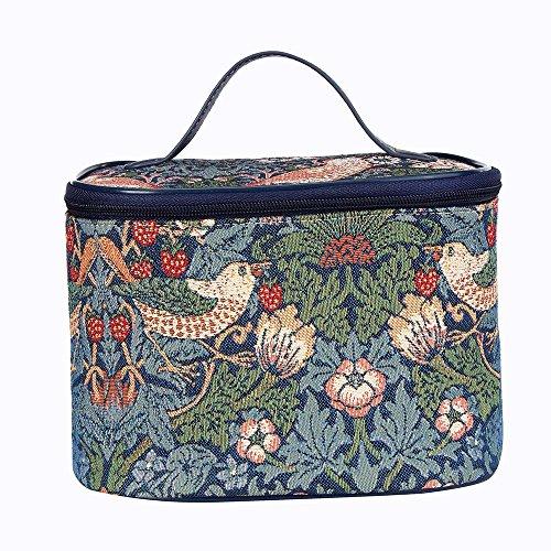 Signare Mode Femme Toile Tapisserie sac de voyage au design Gustav Klimt (Kiss) z44hecWvgu