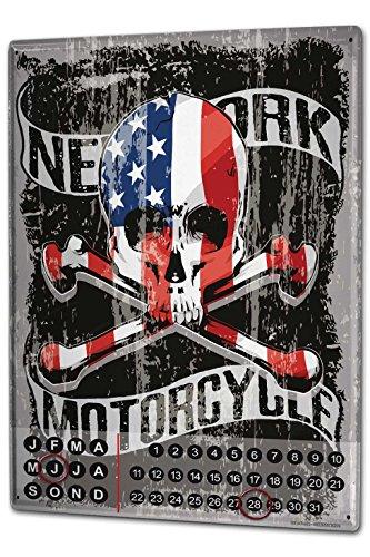 calendario-perpetuo-motos-garaje-nueva-york-metal-imantado