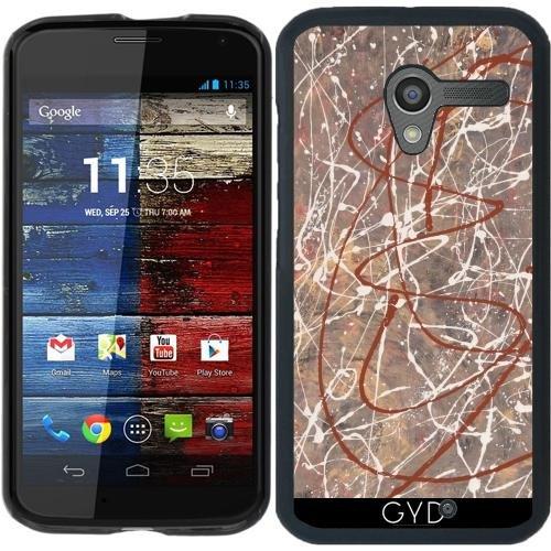 Hülle für Motorola Moto X (Generation 1) - N_043 Leinwand by GeoD Motorola X Generation 1 Fall
