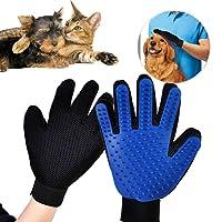 Kedi Köpek İçin Tüy Toplama Eldiveni Toplayan Eldiven Pet Tarak Mavi
