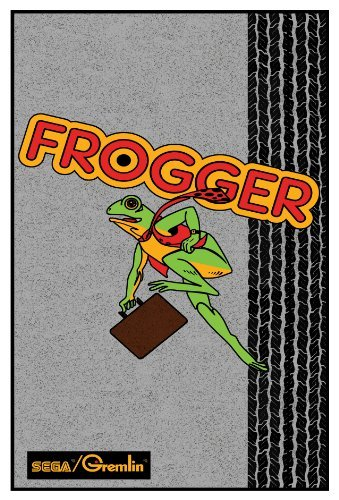 Frogger Video Arcade Game Poster Print 24 X 36 by Arcade Videospiel-poster 24x36