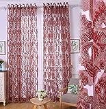 Yushi Jacquard Screens Schlafzimmer Wohnzimmer Vorhänge Bildschirme, 2 Panels, (90, 168 * 183cm