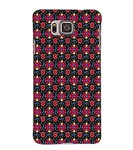 EPICCASE flowery knots Mobile Back Case Cover For Samsung Galaxy Alpha (Designer Case)