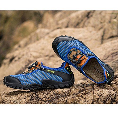 Generic , Herren Aqua Schuhe 45 EU Blau