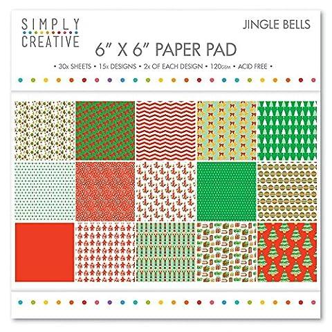Simply Creative Christmas - Jungle Bells Paper Pad 6