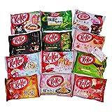 Nestle Japan Kit Kat Friandises Comparaison 8 sacs Assortiment varié de 8 sacs au hasard Chocolat japonais