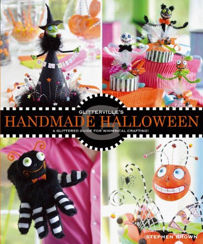 ade Halloween: A Glittered Guide for Whimsical Crafting! (English Edition) ()