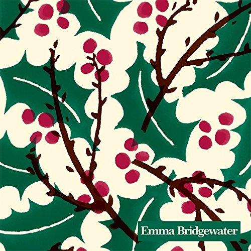 Emma Bridgewater-Ihr e bacche di agrifoglio di Natale tavolo da cocktail a 3strati Tovaglioli di carta tovaglioli