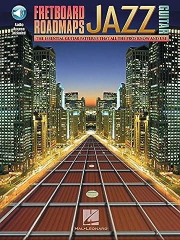 Fretboard Roadmaps Jazz Guitar Book/Audio