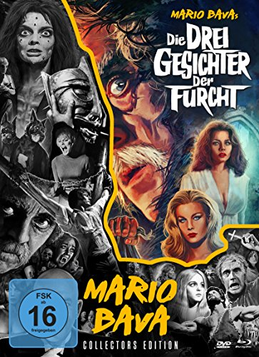 Die drei Gesichter der Furcht - Mario Bava - Collection #5 (+ DVD) (+ Bonus-DVD) [Blu-ray] [Collector's Edition]
