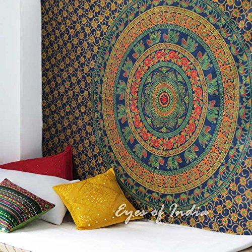 eyes-of-india-twin-blue-elephant-indian-mandala-tapestry-bedspread-beach-blanket-dorm-decor