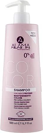 Alama Professional Color Shampoo per Capelli Colorati, 500ml