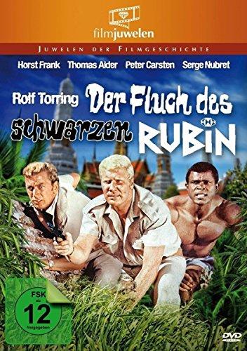 Der Fluch des schwarzen Rubin - mit Horst Frank (Filmjuwelen) [DVD]