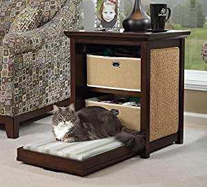 Side Table Cat Bed