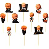 Pop The Party Boss Baby Photo Booth Props Kits for Birthday,Photo Shoots & Special Events Party Favors(10pcs) Dress Up Access