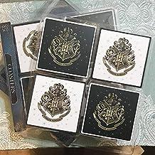 c4187a7852 Primark Harry Potter~4pk black   White~Coasters