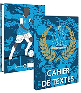 cahier de texte om rentr e scolaire collection officielle olympique de marseille football. Black Bedroom Furniture Sets. Home Design Ideas