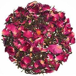 The Indian Chai - Rose Green Herbal Tea Weight Loss Tea & Slimming Tea, Natural Stress Buster 100g