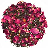 The Indian Chai - Rose Green Herbal Tea|Natural Stress Buster|Aids Digestion & Supports Weight Loss|100g
