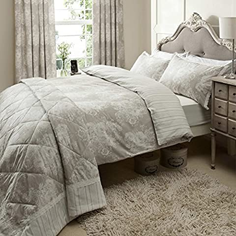 Catherine Lansfield Versaille Double Quilt set by Catherine Lansfield