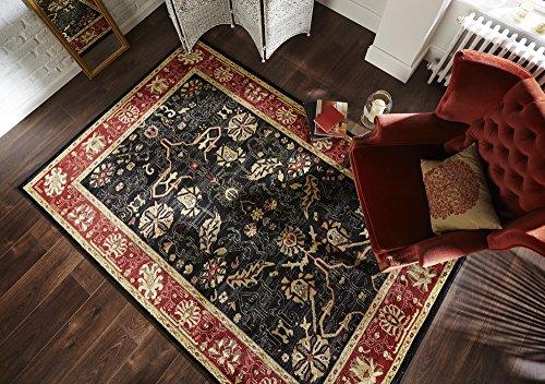tappeti-persiani-tappeti-zeigler-tappeto-tradizionale-per-salotto-nero-ruggine-160-x-230cm