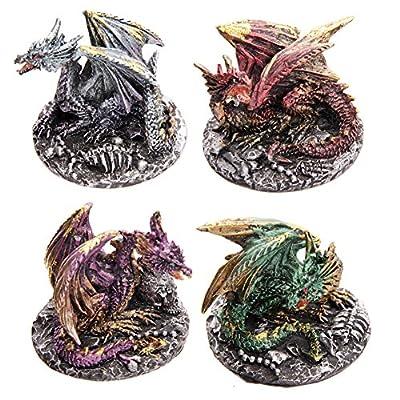 Dark Legends Dragon on Skulls