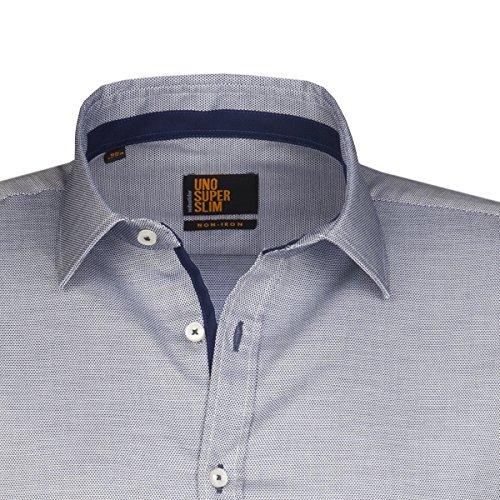 Seidensticker -  Camicia classiche  - Basic - Classico  - Maniche lunghe  - Uomo blau (0016)