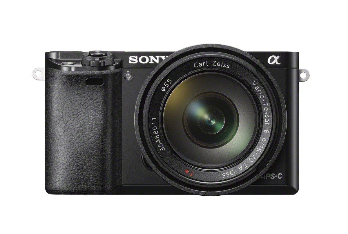 Sony Alpha 6000 Systemkamera 24 MP inkl. SEL-1670Z Objektiv