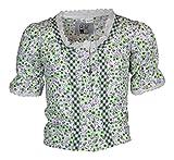 MS-Trachten Kinder Trachten Bluse Mädchenbluse Emilia (128, grün)