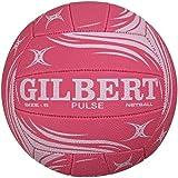 Gilbert Women's Pulse Netball - Pink, Size 5