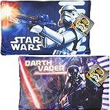 Star Wars Kissen Set 2 Stück Darth Vader & Stormtrooper Dekokissen Kuschelkissen Cushion