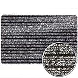 Fußmatte Türvorleger Fußabtreter Türmatte ATLAS in 40x60 50x80, Farben:Grau, Größen:ca. 50 x 80 cm