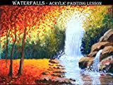 Waterfalls - Acrylic Painting Lesson