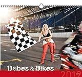 Babes & Bikes 2012. Kalender 33,5 x 29 cm mit Ringbindung
