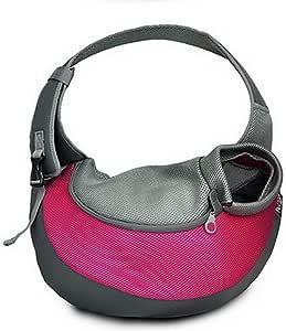 BIGWING Style Borsa da viaggio per cani Trasportino da passeggio ideale per cani o gatti piccola - Rosa,S