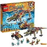 LEGO Legends Of Chima - Playthèmes - 70227 - Jeu De Construction - Le Sauvetage Du Roi Crominus
