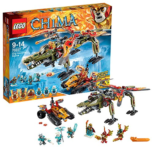 LEGO-Chima-King-Crominus-Rescue-Building-Set-70227