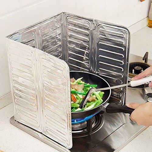bluel over Protección para la cocina contra salpicaduras aceite aceite Cocina de...